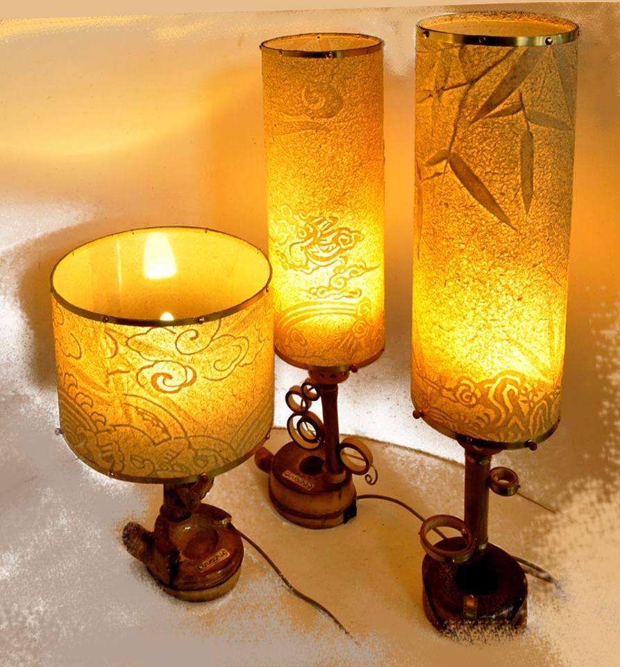 """Cùng ngắm nhìn những tác phẩm đèn bàn trúc chỉ đẹp """"Mê Hồn"""""""